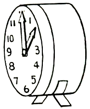 Turn the hands to any time that you want to. This is great for learning how to tell the time.