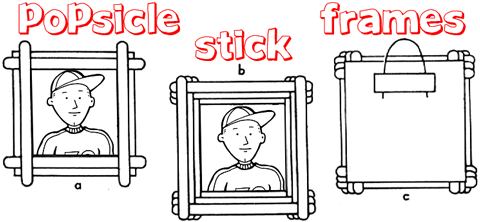 Popsicle Sticks Crafts For Kids Arts And Craft Activities Ideas