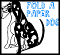 Printable Paper Dogs