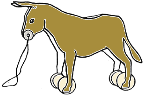 cartoon pictures of mules