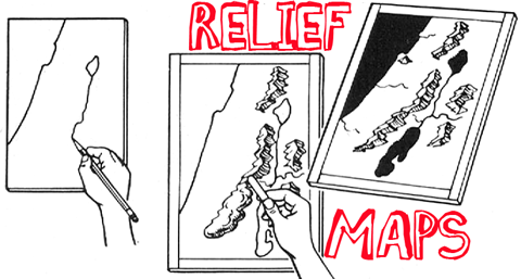 How to Make Relief Maps