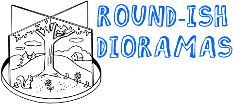 HOW TO MAKE ROUND DIORAMAS