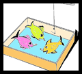 Safety Pin Fish Pond game