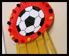 Paper Plate Soccer Plaque