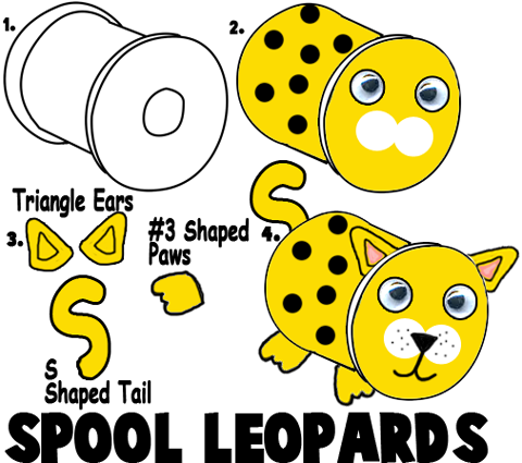 Making Thread Spool Leopards