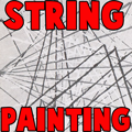 String Painting Techniques