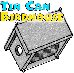 How To Make Wooden Tin Can Birdhouses Crafts For Children And Teens