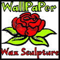 Wallpaper Wax Flowers