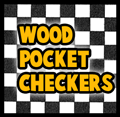 Make Wooden Pocket Checkers Game