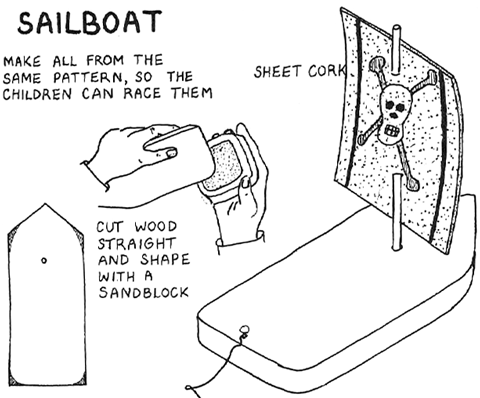 How to Make Working Wooding Sailboats