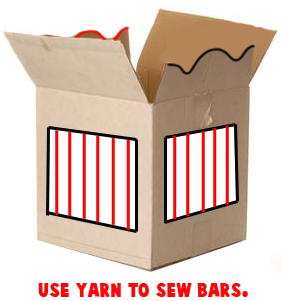 Sew Yarn Cage Bars