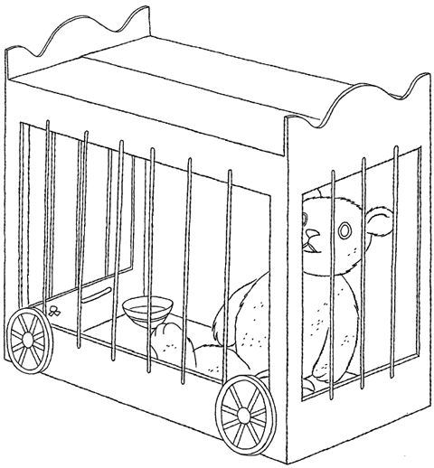 HOW TO MAKE ZOO or CIRCUS ANIMAL CAGES