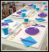 Personalized Place Mats Crafts Idea for Children