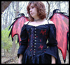 How to Make a Gothic Fairy Costume for Preteens and Teenagers who Want a Scary Look