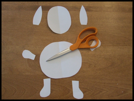 Springy Arms and Legs Easter Bunny Craft Project for Kids