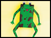 Juice Box Frog Jumpers Craft Toy  : Juice Box Crafts Ideas for Kids