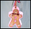 Gingerbread Man Cookie Card