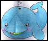 Fun Whale Ate Jonah Craft Activity  : Jonah and the Whale Sunday School Craft for Kids