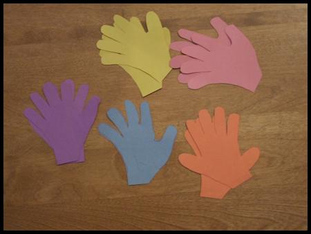 Handprint Easter Basket Craft For Kids Instructions