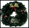 Recycled   Bags Wreath