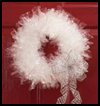 Unique   Christmas Wreath  : Wreath Crafts Projects