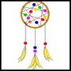 Dream    Catcher   : Columbus Day Crafts Activities for Children