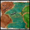 New    World Map   : Columbus Day Crafts Activities for Children