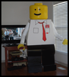 How to Make a Lego Man Costume?