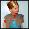 Make a Knight Outfit for Little Boys Who Like to Play Dress Up