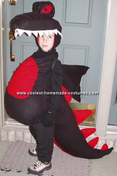 Как сделать новогодний костюм дракона