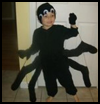 Make a Spider Costume in 40 minutes