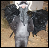 How to Make a Black Dragon Costume For A Kid!!!