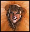 Lion Pattern Craft for Kids