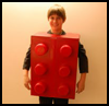 Make a Lego Brick Costume Crafts Instructions