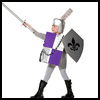Make a Knight Costume Instructional Tutorial for Children