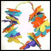 Flower    Garland  : Diwali Crafts Ideas for Kids