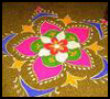 Rangoli    Craft   : Diwali Crafts Activities for Children