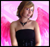 Glamorous Fallen Angel Wings Costume