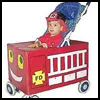 Stroller   Fire Truck Costume  : Making Easy Handmade Halloween Costumes