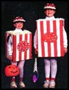 Popcorn   Box Costume  : Making Easy Handmade Halloween Costumes