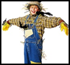 Scarecrow   Costume  : Making Easy Handmade Halloween Costumes