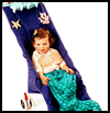 Littlest   Mermaid Costume  : Making Easy Handmade Halloween Costumes