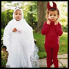 Devil   and Ghost and Bat Costumes  : Halloween Costume Crafts Ideas for Kids