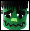 Tin Can Frankenstein : Scary & Spooky Decorations Crafts