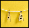 Ghostly   Garland  : How to Make Halloween Ghosts Crafts