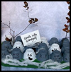 Egg   Carton Ghosts  : Halloween Ghost Crafts Ideas for Kids