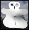 Ghost   Antenna Buddy  : How to Make Halloween Ghosts Crafts