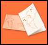 Ghost   Card  : How to Make Halloween Ghosts Crafts