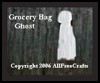 Grocery   Bag Ghosts  : Spooky Ghosts Crafts Projects for Children