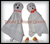 Lollipop   Ghosts   : Creepy Ghosts Crafts Projects for Children